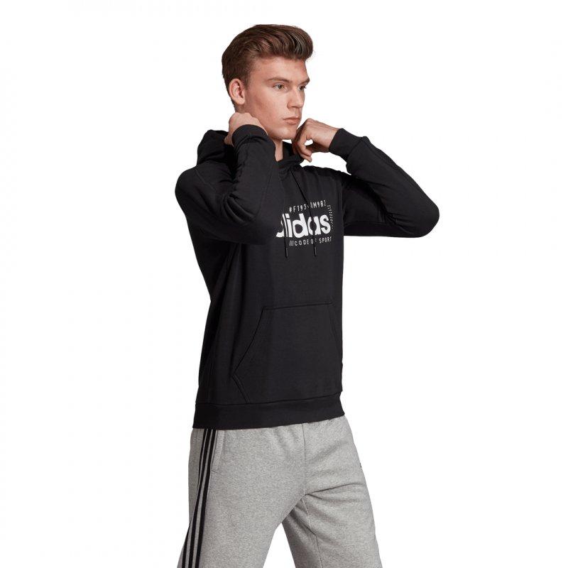 Adidas Herren Kapuzenpullover/Hoodie M BB HDY black