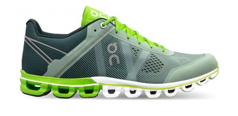 brand new 76961 15d7a ON Laufschuhe/Sneaker Herren Cloudflow Moss | Lime