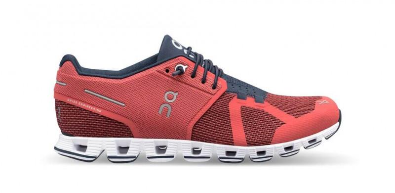 ON Laufschuhe/Sneaker Damen Cloud Coral/Pacific