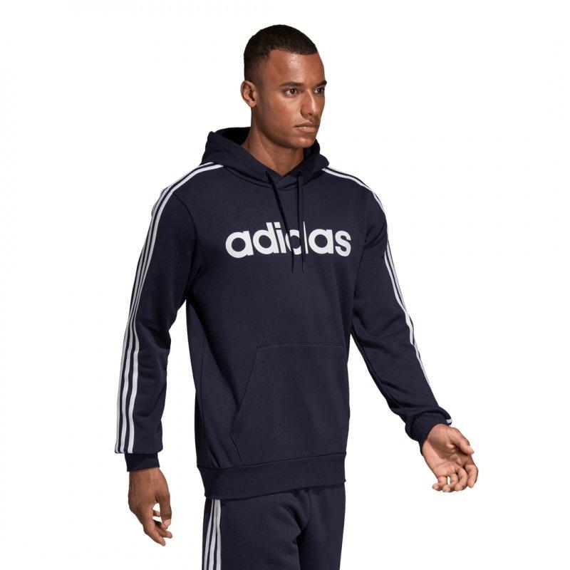 Adidas Herren Kapuzenpullover Sweatshirt E 3S PO FL