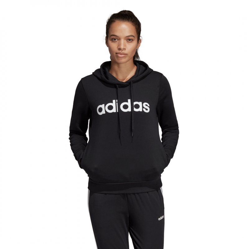 Adidas Damen Kapuzensweatshirt/Hoodie W E LIN OHHD FL