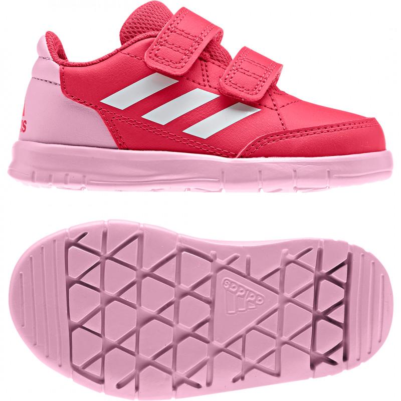 lowest price 8c641 b07f3 Adidas Kinder Sportschuhe Klett AltaSport CF I