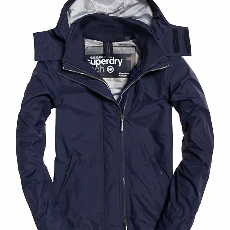 Superdry Damen Jacke Tech Hood Pop Zip