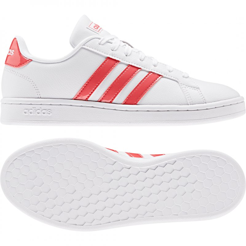 superior quality clearance sale check out Adidas Damen Sportschuhe/Sneaker Grand Court EE8178 weiß/pink