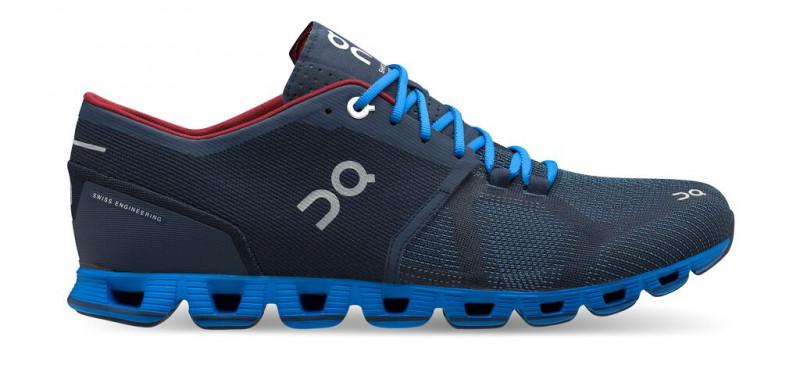ON Laufschuhe/Sneaker Herren Cloud X Midnight/Cobalt