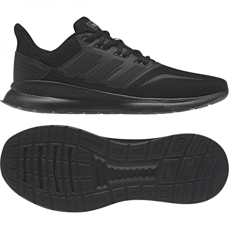 Damen Runningschuhsneaker Schwarz Adidas Adidas Damen Runfalcon OTPkXZwiu