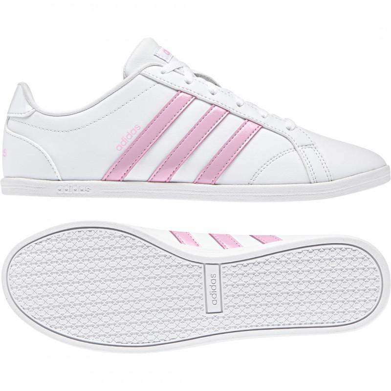 Adidas Damen Sneaker Coneo weiß/rupink