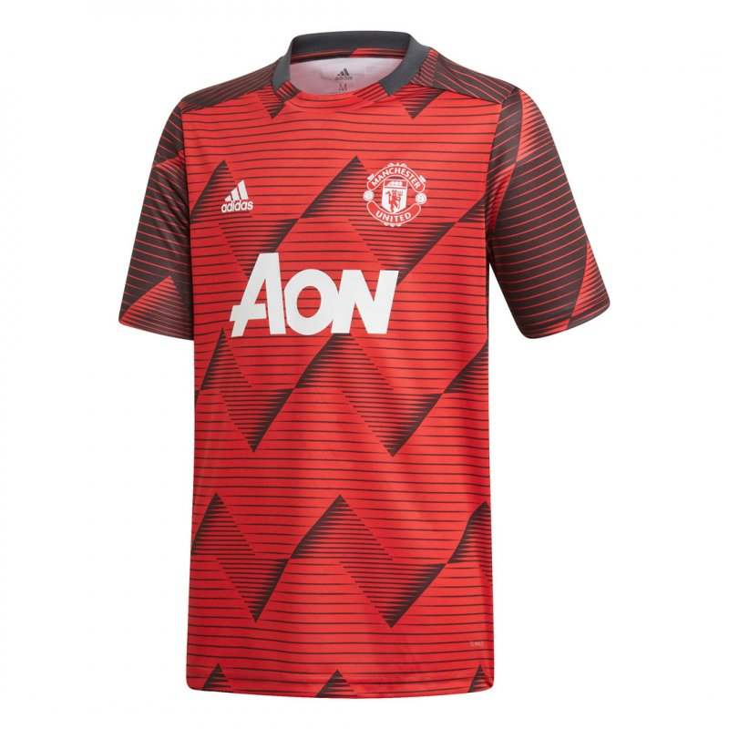 Adidas Manchester United Pre-Match Shirt Junior