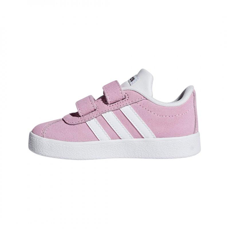 Adidas Mädchen Sportschuhe/Sneaker VL Court 2.0 CMF I