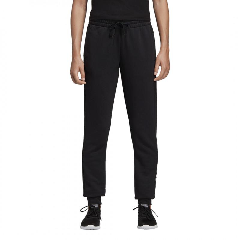 Adidas Damen Jogginghose W E LIN Pant schwarz/weiß